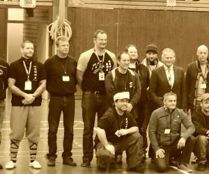 Sifu Peter Frömke - Ringrichter Finalkämpfe auf Deutscher Meisterschaft