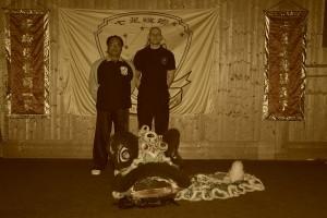 Si Gung Lee Kam Wing und Sifu P. Frömke (Harz 2009)