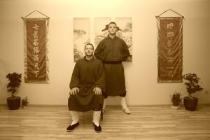 Sifu Peter Frömke und sein Meister-Schüler Sifu Daniel Wolter